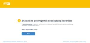 wdrożenie RODO - przykład braku SSL